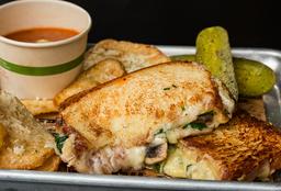 Sándwich Veggie Melt